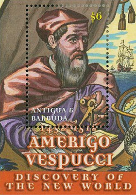 [The 550th Anniversary of the Birth of Amerigo Vespucci, 1452-1512, type ]