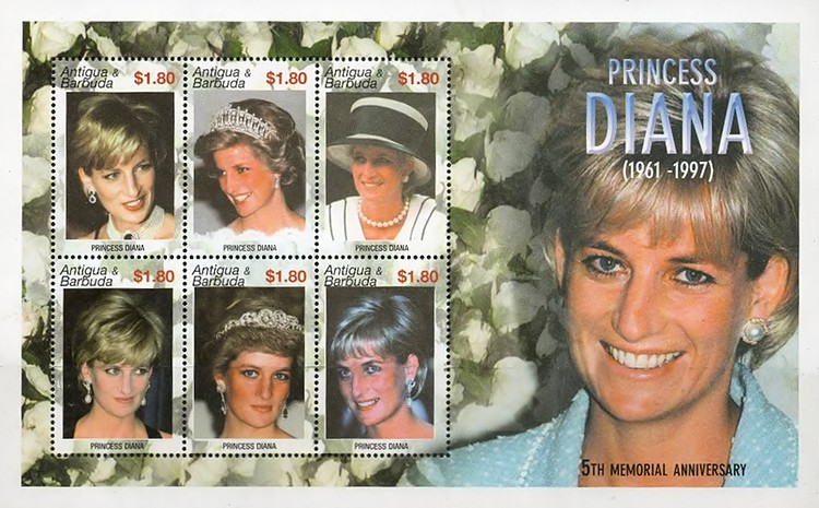 [The 5th Anniversary of the Death of Princess Diana, 1961-1997, type ]
