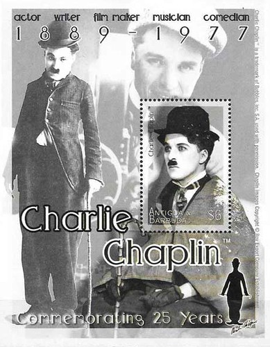 [The 25th Anniversary of the Death of Charlie Chaplin, 1889-1977, type ]