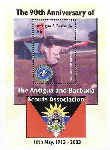 [The 90th Anniversary of Antigua and Barbuda Scouts Association, type ]