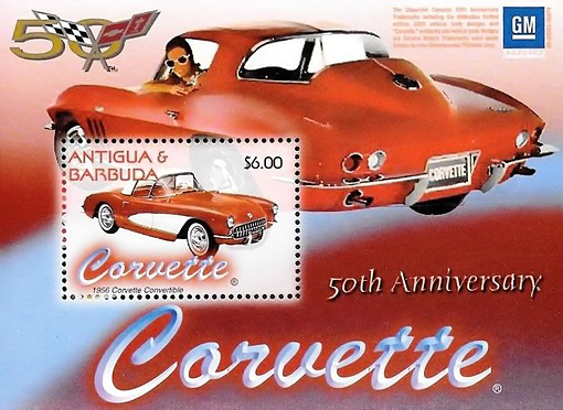 [The 50th Anniversary of the Corvette, type ]