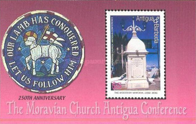 [The Moravian Church Antigua Conference, type ]
