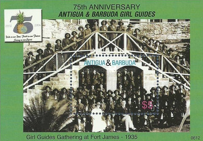 [The 75th Anniversary of the Scouting in Antigua, type ]