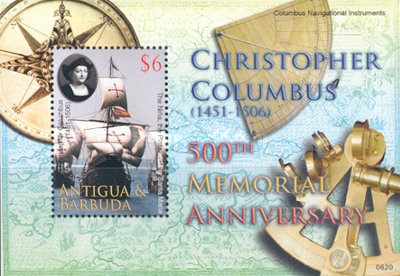 [The 500th Anniversary of the Death of Christopher Columbus, 1451-1506, type ]