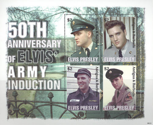 [The 50th Anniversary of Elvis' Army Introduction, type ]