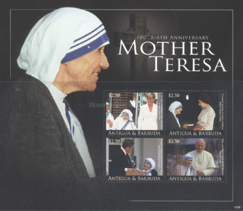 [The 100th Anniversary of the Birth of Mother Tresa, type ]