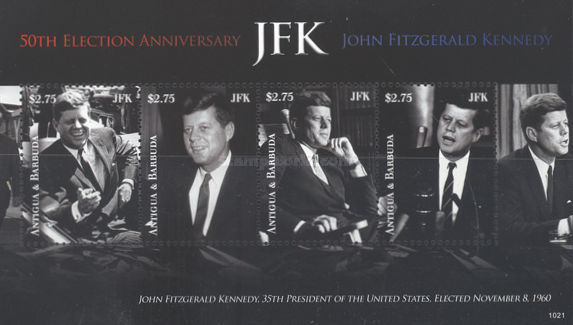[The 50th Anniversary of J.F.Kennedy's Election, type ]