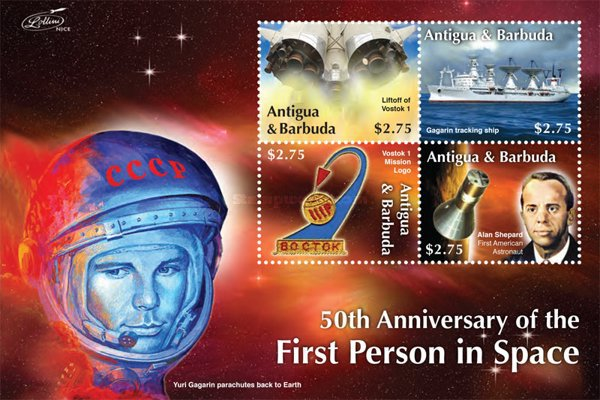 [The 50th Anniversary of the First Manned Space Flight, type ]