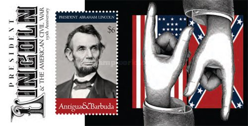 [Abraham Lincoln, 1809-1865 - The 150th Anniversary of the American Civil War, type ]