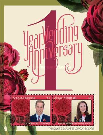 [The 1st Anniversary of the Royal Wedding of Prince William & Catherine Middleton, type ]