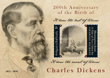 [The 200th Anniversary of the Birth of Charles Dickens, 1812-1870, type ]