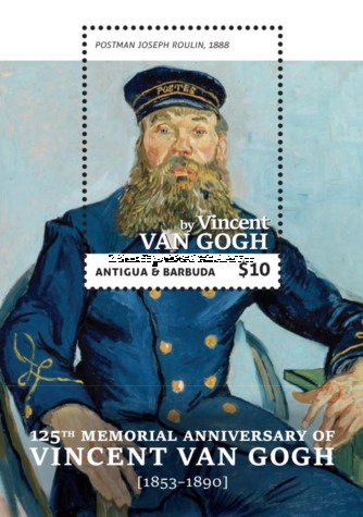 [The 125th Anniversary of the Death of Vincent van Gogh, 1853-1890, type ]