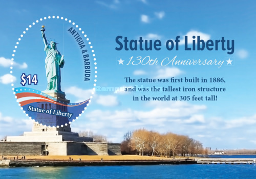 [The 130th Anniversary of the Statue of Liberty, type ]