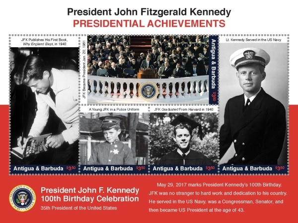 [The 100th Anniversary of the Birth of John F. Kennedy, 1917-1963, type ]