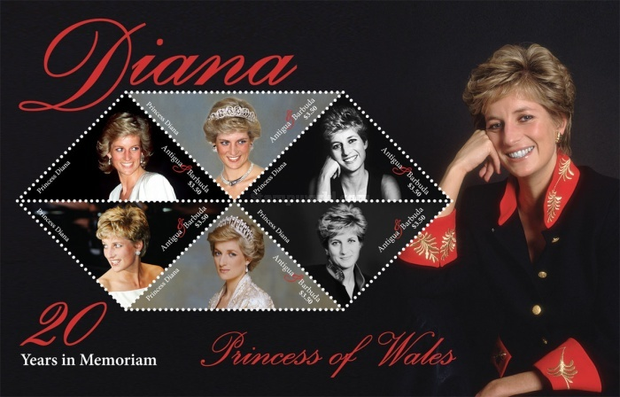 [The 20th Anniversary of the Death of Princess Diana, 1961-1997, type ]