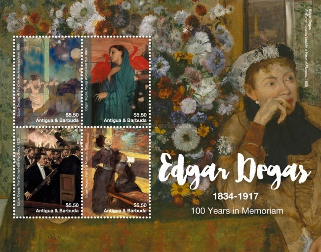 [Paintings - The 100th Anniversary of the Death of Edgar Degas, 1834-1917, type ]