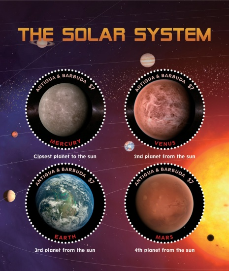 [The Solar System, type ]