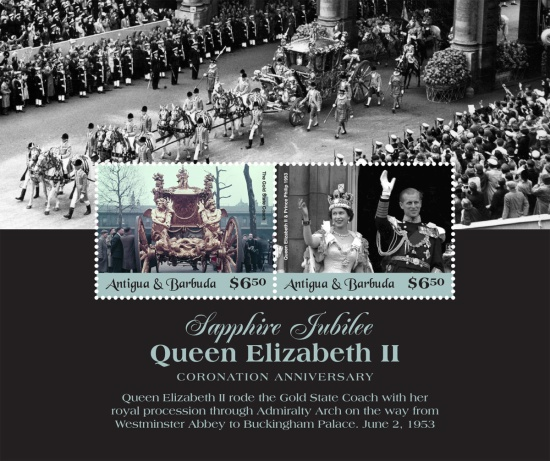 [The 65th Anniversary of the Coronation of Queen Elizabeth II, type ]