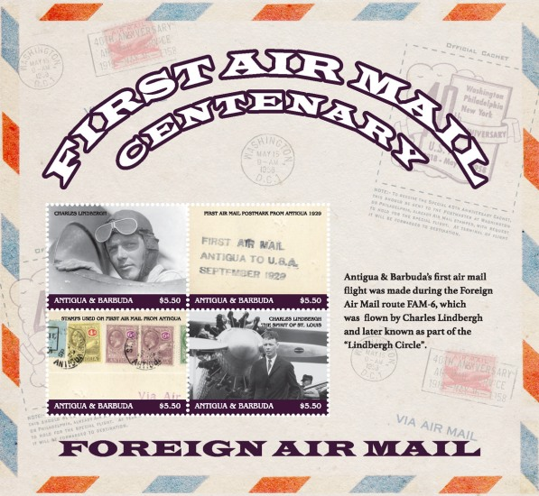 [The 100th Anniversary of the First Air Mail, type ]
