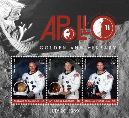 [The 50th Anniversary (2019) of the Apollo 11 Mission to the Moon, type ]