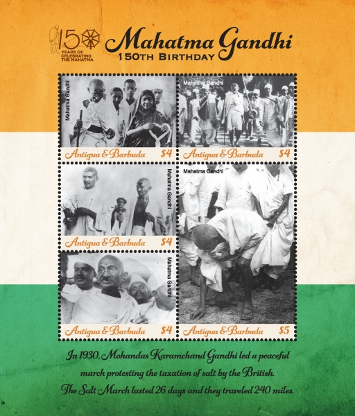 [The 150th Anniversary of the Birth of Mahatma Gandhi, 1869-1948, Typ ]