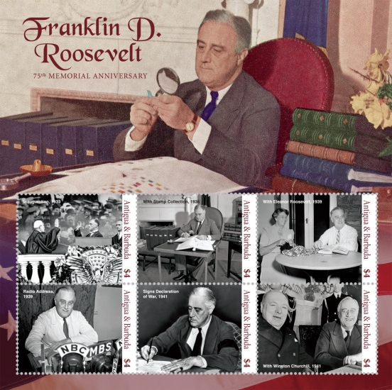 [The 75th Anniversary (2020) of the Death of Franklin D. Roosevelt, 1882-1945, type ]
