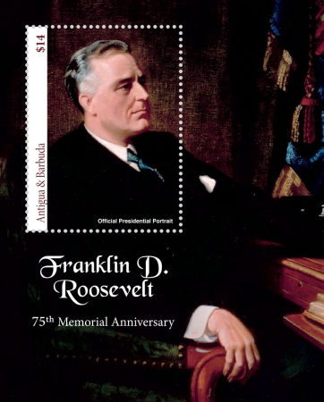 [The 75th Anniversary (2020) of the Death of Franklin D. Roosevelt, 1882-1945, Typ ]