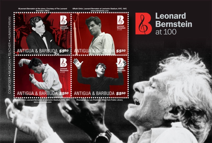 [The 100th Anniversary (2018) of the Birth of Leonard Bernstein, 1918-1990, Typ ]