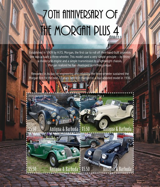 [The 70th Anniversary of the Morgan Plus 4, type ]