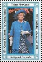 [The 90th Anniversary of the Birth of Queen Elizabeth the Queen Mother, 1900-2002, type AAJ]