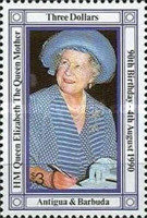 [The 90th Anniversary of the Birth of Queen Elizabeth the Queen Mother, 1900-2002, type AAL]