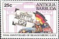 [The 200th Anniversary of the Brandenburg Gate, type AGT]