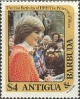 [The 21st Anniversary of the Birth of the Princess of Wales, type AH]