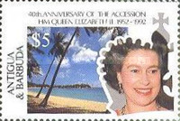 [The 40th Anniversary of the Acession of Queen Elizabeth II, type AIA]