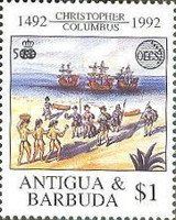 [OECS - The 500th Anniversary of the Discovery of America, type AKT]
