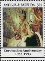 [The 40th Anniversary of the Coronation of Queen Elizabeth II, type APA]
