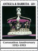 [The 40th Anniversary of the Coronation of Queen Elizabeth II, type APB]