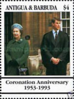 [The 40th Anniversary of the Coronation of Queen Elizabeth II, type APD]