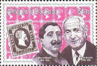 [Personalities - Stamps on Stamps, type AQP]