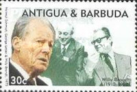 [The 80th Anniversary of the Birth of Willy Brandt, 1913-1992, type ARW]