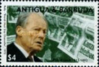 [The 80th Anniversary of the Birth of Willy Brandt, 1913-1992, type ARX]
