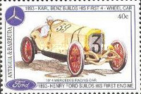 [The 100th Anniversary of Henry Ford's First Petrol Engine and the 100th Anniversary of Karl Benz's First Four-wheeled Car, type ASR]