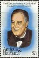 [The 100th Anniversary of the Birth of Franklin D. Roosevelt and the 250th Anniversary of the Birth of George Washington, type AT]