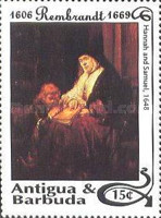 [The 325th Anniversary of the Death of Rembrandt, 1606-1669, type ATS]