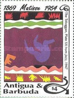 [The 40th Anniversary of the Death of Henry Matisse, 1869-1954, type AUA]