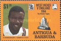 [The 100th Anniversary of First English Cricket Tour to the West Indies, type AXV]