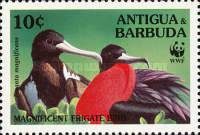 [World Wildlife Fund - Magnificient Frigatebird, type BBA]