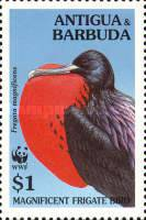 [World Wildlife Fund - Magnificient Frigatebird, type BBC]