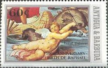 [The 500th Anniversary of the Birth of Raphael, type BD]