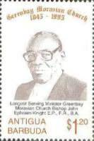 [The 150th Anniversary of Greenbay Moravian Church, type BFO]